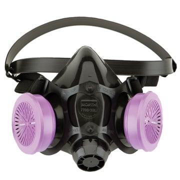 NIOSH half face respirator