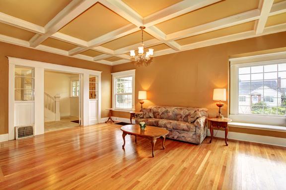 living room wood floor1