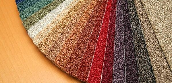 Triexta carpet samples
